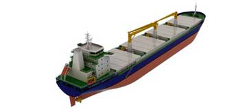 Contract For 2 x 24000 DWT General Cargo Ship