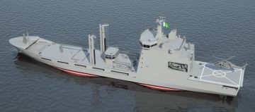 New Contract for Pakistan Navy Fleet Tanker!