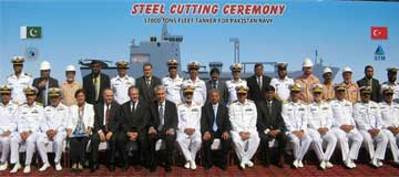 Steel Cutting Ceremony of PNFT Was Held!