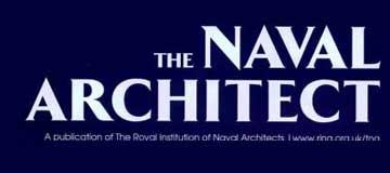 T.ESRA Represented by 'The Naval Architect' Magazine!