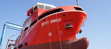 Turkey's First Oil Recovery Vessel Seyit Onbasi is at sea!